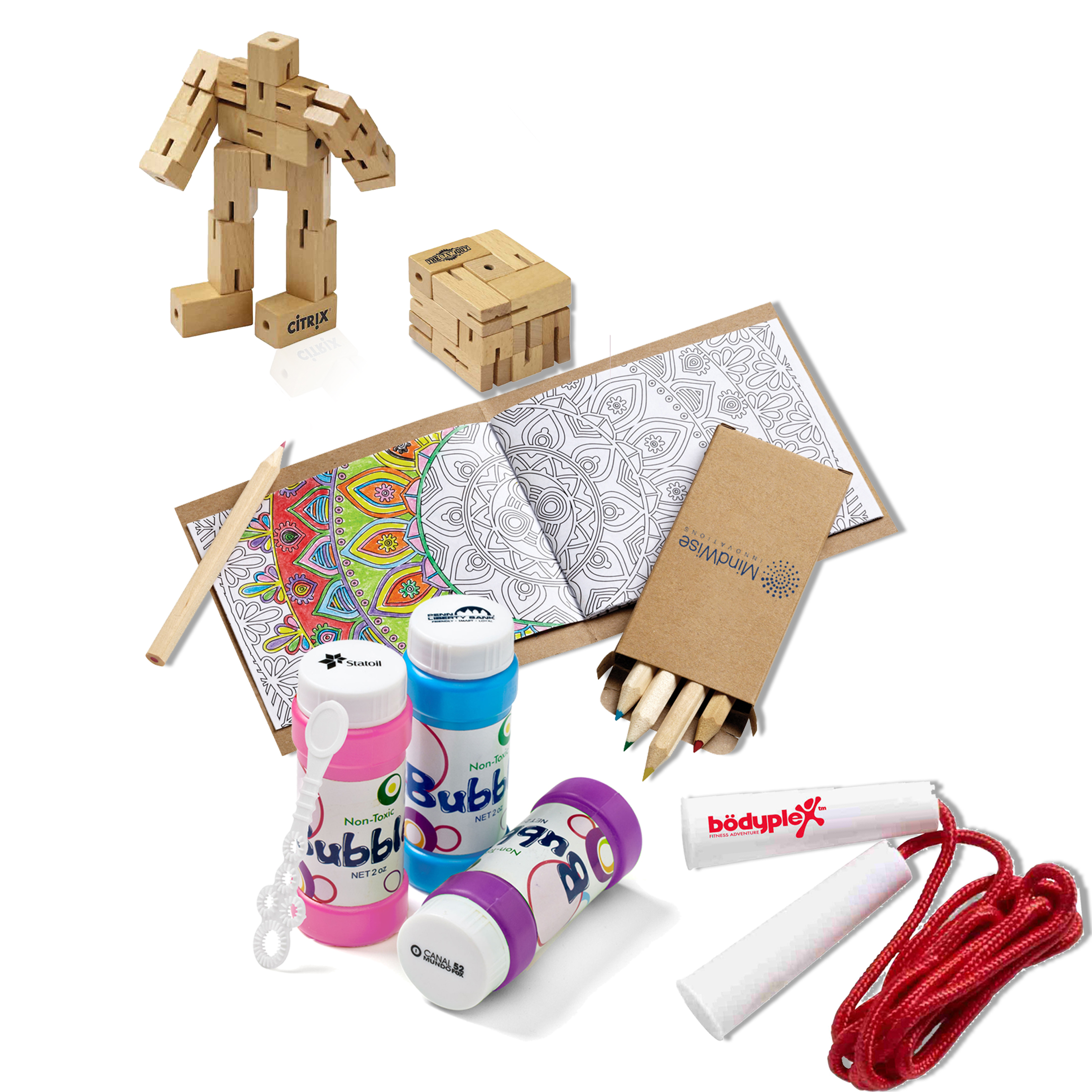 Creative Marketing Concepts COVID-19 UpdateWorking from Home Kids Fun Kit