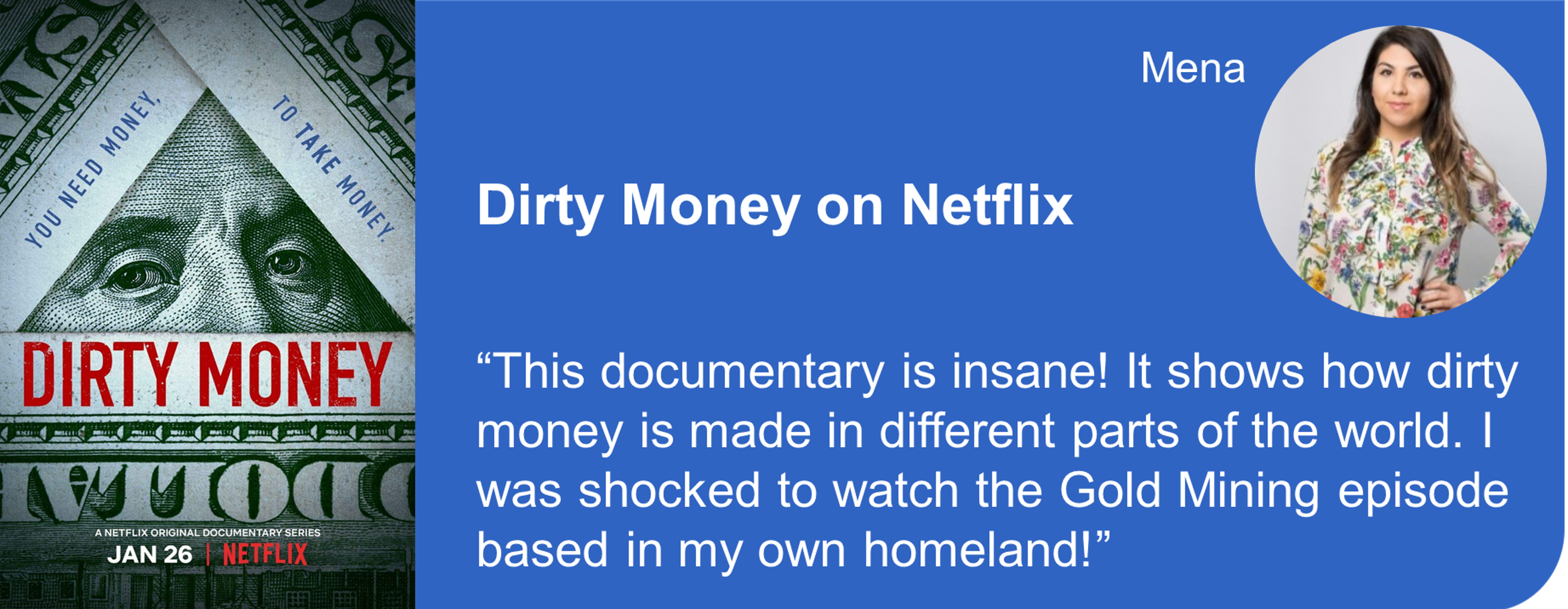 Creative Marketing Concepts Quarantine And Chill Binge-Worthy Dirty Money Netflix