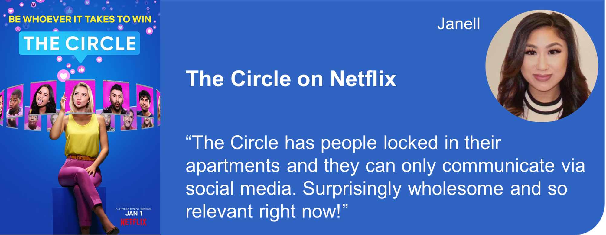 Creative Marketing Concepts Quarantine And Chill Binge-Worthy The Circle Netflix