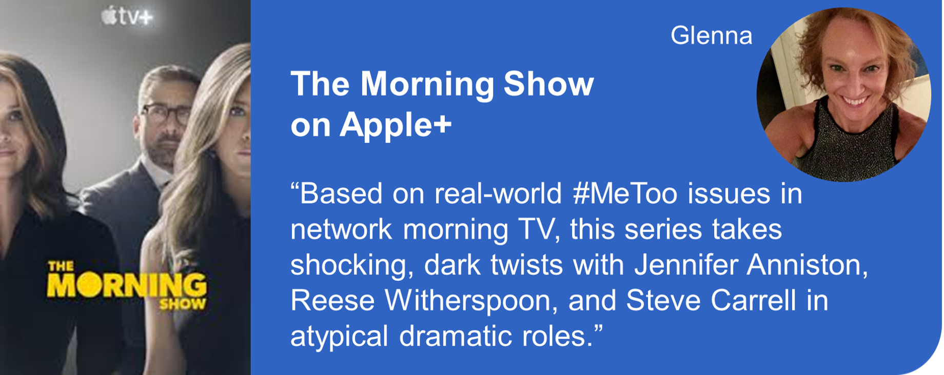 Creative Marketing Concepts Quarantine And Chill Binge-Worthy The Morning Show Apple+