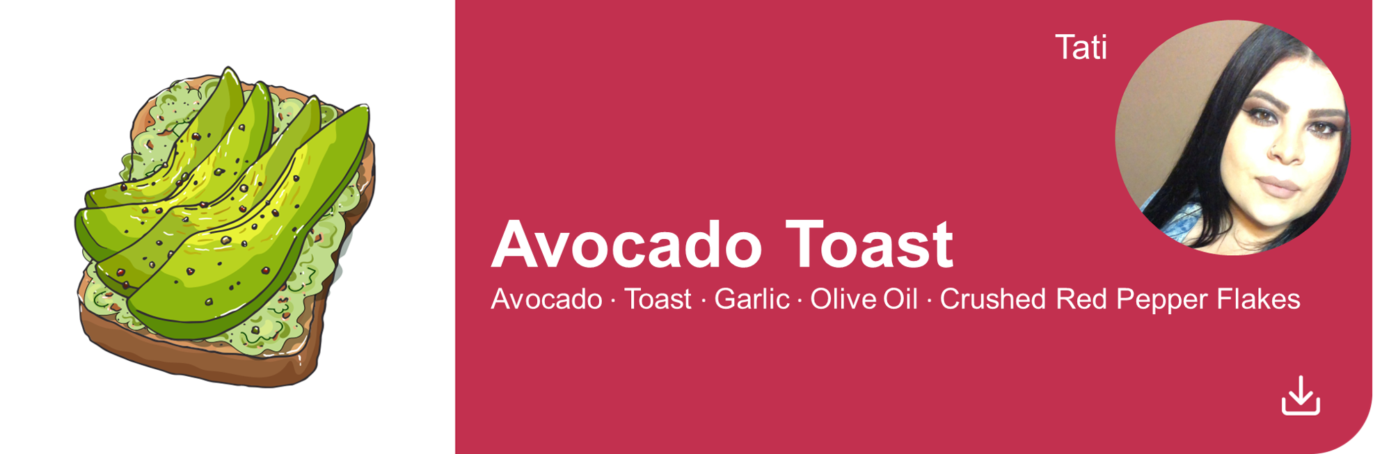 Creative Marketing Concepts_QuarantineAndChill_Comfort Food Edition_Avocado on Toast_Tati new
